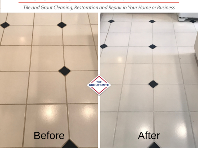 Floors Before & After | Houston Groutsmith